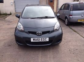 Toyota Aygo 1.0 petrol very good condition.Road tax £20 per year