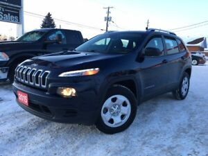 2015 Jeep Cherokee SPORT 4X4 / HEATED SEATS / FOR ONLY $21 995
