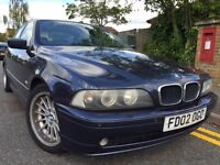 2002 BMW E39 530D SE - RARE 5 SPEED MANUAL - TOLEDO BLUE / LEATHER / STYLE 32s / 55+ MPG / FACELIFT