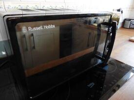 Rus Hobs Mircowave Mirror Effect Clean Functional