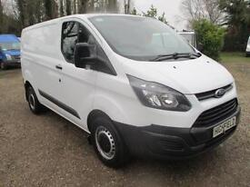 2014 Ford Transit Custom 2.2TDCi 100PS 290 60,000 MILES GUARANTEED NO VAT