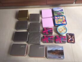 Selection of Storage Tins. £1 each. Collect from Fulham