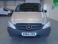 Mercedes-Benz Vito 113Cdi LWB Van DIESEL MANUAL SILVER (2014)