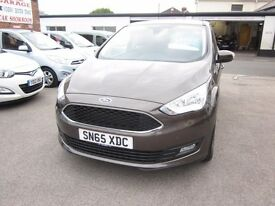 2015 FORD - C MAX ZETEC (65) MANUAL 1.6 PETROL 5 DOOR........................£13,495.00