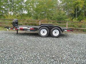 14' EQUIPTMENT/TANK TRAILER