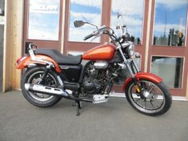 EVOLUTION MOTOR WORKS - * NEW * Lexmoto 125 Michigan EFI - Learner Legal - Finance Options.