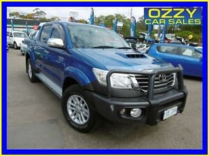 2012 Toyota Hilux KUN26R MY12 SR5 (4x4) Blue 4 Speed Automatic Dual Cab Pick-up Penrith Penrith Area Preview