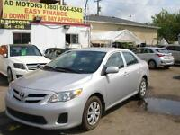2012 Toyota Corolla AUTO LOADED SPORT 62K-100% APPROVE FINANCING