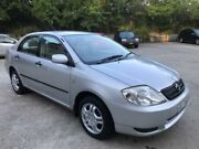 2004 Toyota Corolla ZZE122R Ascent Silver 4 Speed Automatic Sedan Lisarow Gosford Area Preview