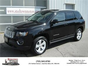 2015 Jeep Compass 4x4 High Altitude|Heated Leather|Sunroof