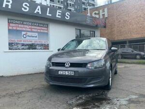 2011 Volkswagen Polo 6R Trendline Hatchback 3dr DSG 7sp 1.4i Grey Sports Automatic Hatchback Liverpool Liverpool Area Preview