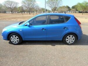 2009 Hyundai i30 FD MY09 SX Blue 5 Speed Manual Hatchback