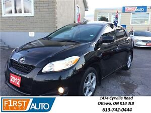 2012 Toyota Matrix Sun Roof - NO ACCIDENTS! - Cruise Control