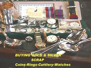 Buying Gold & Silver Flatware, Chains,Rings