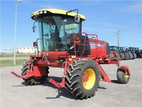 2014 New Holland Speedrower® SR130 Swather Tractor