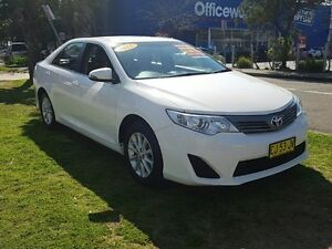 2015 Toyota Camry ASV50R Altise White 6 Speed Automatic Sedan Five Dock Canada Bay Area Preview