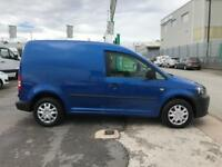 Volkswagen Caddy 1.6TDI 75PS STARTLINE EURO 5 DIESEL MANUAL BLUE (2015)