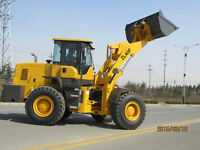New 26000lb Wheel Loader With 175 HP Cummins Power