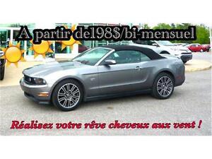 2010 Ford Mustang GT À PARTIR DE 198$ bi MENSUEL 100% APPROUVÉ
