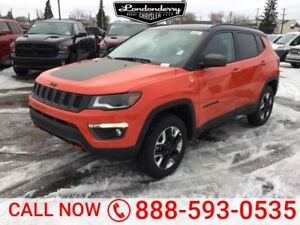 2018 Jeep Compass 4X4 TRAILHAWK                  Leather Interio