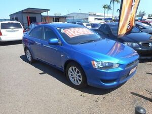2011 Mitsubishi Lancer CJ MY11 ES Blue 6 Speed Constant Variable Sedan Winnellie Darwin City Preview
