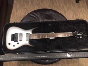 Jackson SLATX 7 string electric guitar w. HS case