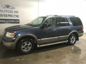 2004 Ford Expedition Eddie Bauer 7 PASS,CUIR, 4X4