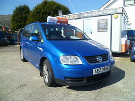 2004 VOLKSWAGEN TOURAN-SE TDI-**SORRY SOLD**