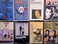 ERASURE, KATHLEEN FERRIER, FINE YOUNG CANNIBALS, FIVE STAR, FLEETWOOD MAC, FOUR TOPS, CASSETTE TAPES