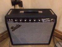 Fender Princeton 65 reverb.