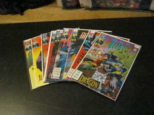 Batman Detective comics 584 to 658. 75 in a row. Price reduced!