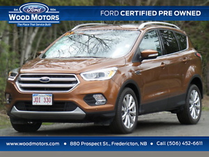 2017 Ford Escape Titanium (Certified Pre Owned) $2,000 OFF!