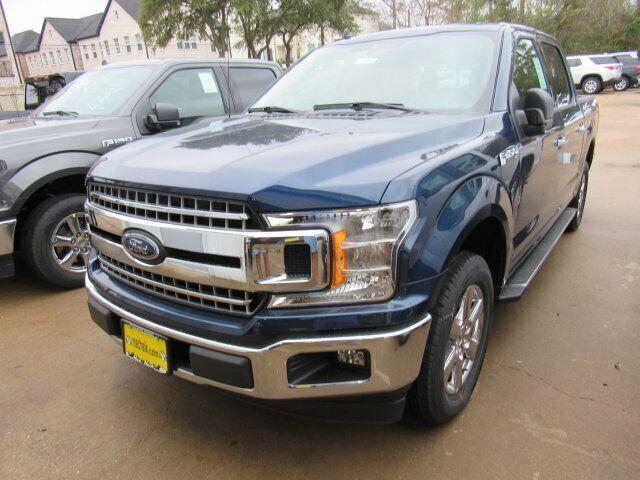 2020 Ford F-150 XLT 1024 Miles Blue Jeans Metallic Crew Cab Pickup Twin Turbo Re