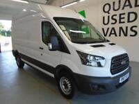 Ford Transit L3 H3 VAN 130PS EURO 6 DIESEL MANUAL WHITE (2017)