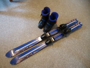 Techno Pro Skis and boots