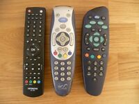 Remote Controls Various prices from £3