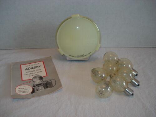 Model 281 Polaroid BC Flash Gun with Diffuser Plus 7 Flash Bulbs