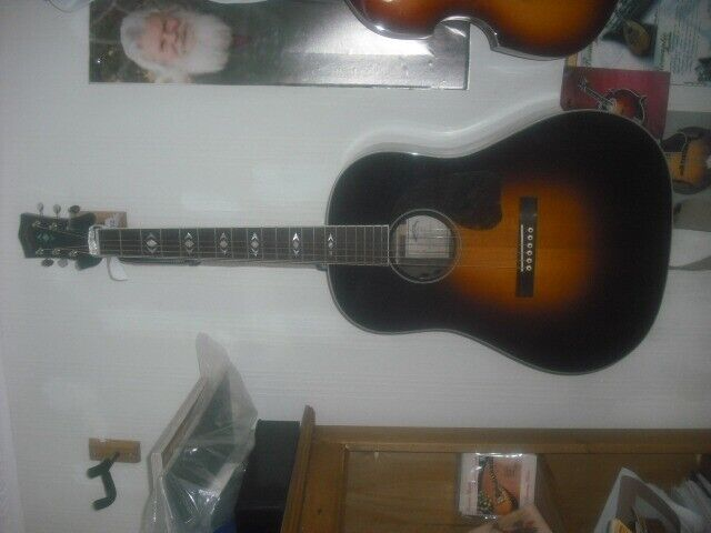 Sigma Advanced Jumbo guitar-Acoustic-Electric | in Cramlington,  Northumberland | Gumtree