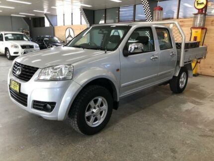 2012 Great Wall V200 K2 (4x2) Silver 6 Speed Manual Dual Cab Utility Fyshwick South Canberra Preview