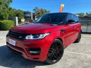 2014 Land Rover Range Rover Sport SDV8 HSE Dynamic (250kW) Red 8 Speed Automatic Wagon Burleigh Heads Gold Coast South Preview