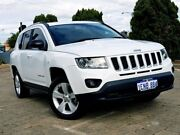 2014 Jeep Compass MK MY14 Sport CVT Auto Stick White 6 Speed Constant Variable Wagon Bedford Bayswater Area Preview