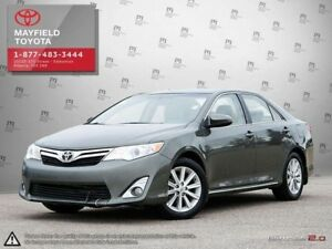 2012 Toyota Camry XLE leather