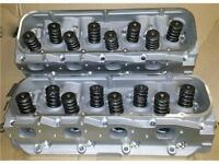 BBC 396 to 454 ALUMINUM HEADS 2.25 by 1.88 STAINLESS VALVES