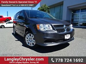 2017 Dodge Grand Caravan SE W/ DUAL CLIMATE & POWER WINDOWS