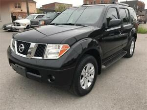 2007 Nissan Pathfinder LE AWD Fully Loaded 7Pass