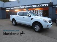 2013 Ford Ranger XLT 2.2TDCi 4x4 Double Cab A/C Alloys Phone Kit E/W Diesel whit