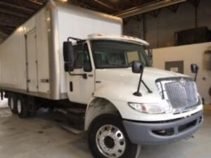2010 International 4400 SBA 6X4, Used Dry Van