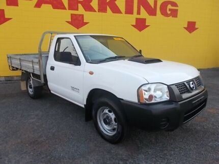 2012 Nissan Navara D22 S5 DX White 5 Speed Manual Cab Chassis Winnellie Darwin City Preview