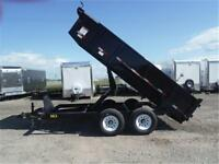 BEST Selling Commercial Grade Dump Trailers! *14,000 lb. GVWR*