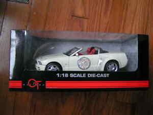 1:18 scale Mustangs